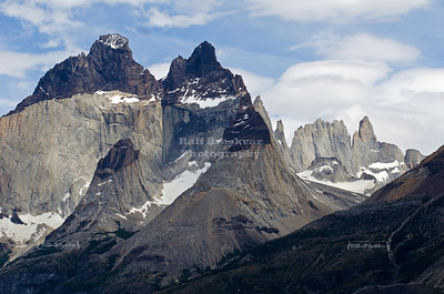 Cuernos del Paine (Horns of Paine), Torres Del Paine National Park, Patagonia, Chile