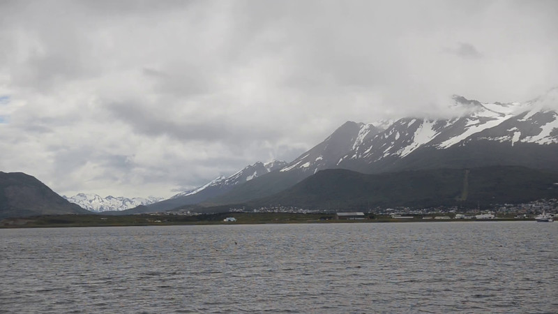Video: Ushuaia seen from the Beagle Channel