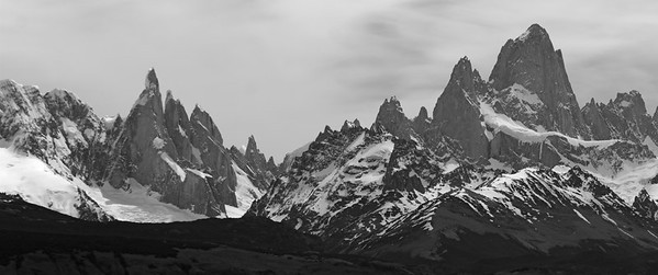 Cerro Torre and Cerro Fitz Roy