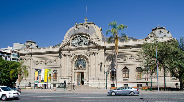 National Museum of Fine Arts in Santiago, Chile
