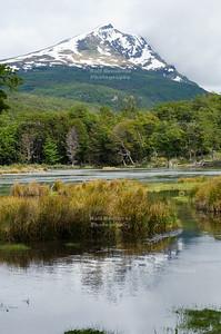 Cerro Condor (condor hill) and Lago Roca, Tierra Del Fuego National Park, Ushuaia, Patagonia, Argentina