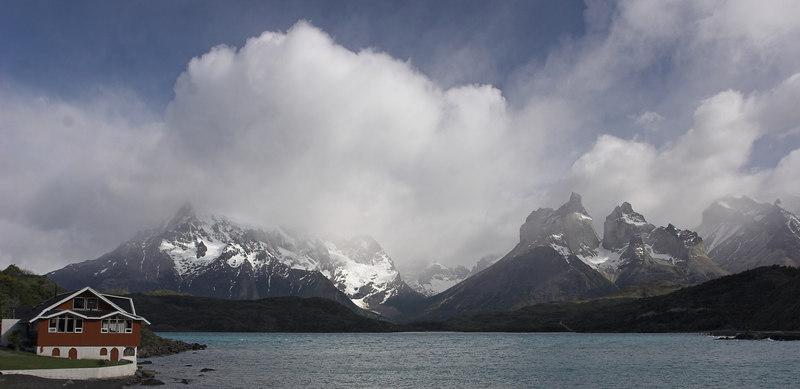 Hosteria Pehoe has a million dollar view across Lago Pehoe