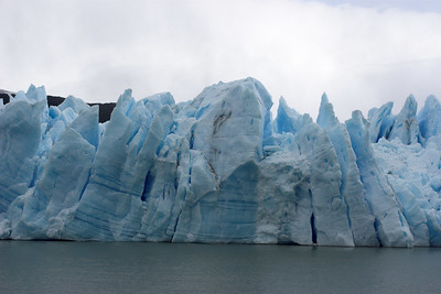 Glacier's terminal face