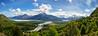 View over Villa O'Higgins, Patagonia