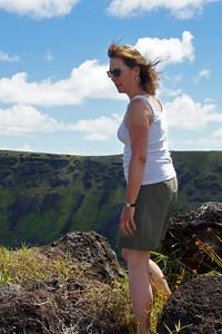 Rimside on Volcan Rano Kau