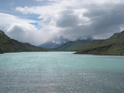 Entering Torres del Paine from the Administration