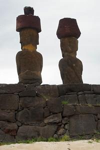 Moai Backs at Ahu Naunau