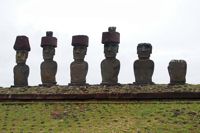 Ahu Naunau Moai