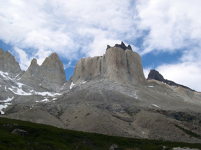 The Quernos from the south: note the horns which show well from this view.