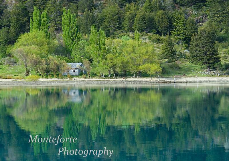Reflection in Lago Bertrand
