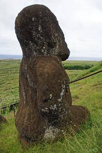 Squatting Moai