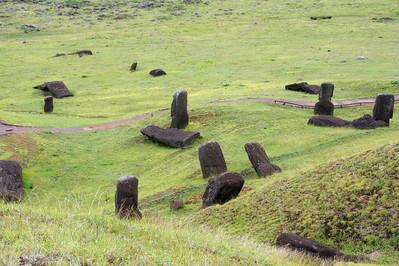 Moai Exiting Quarry
