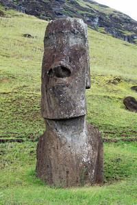 Partially Buried Moai
