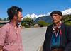 Jonathan and Gaucho, Cerro Castillo Villa, Southern Chile.