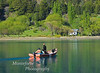 Crossing Lago Bertrand, Chile