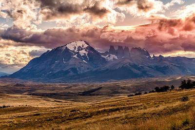 Sunset Torres del Paine