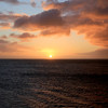 Sunset aboard the Stella Australis from the end of the world.
