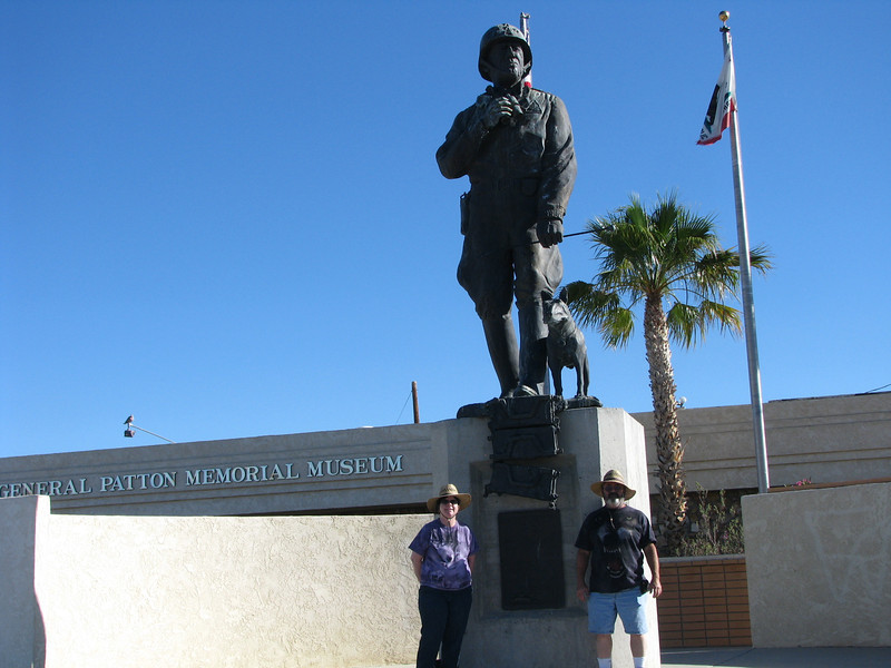 Photo with General Patton