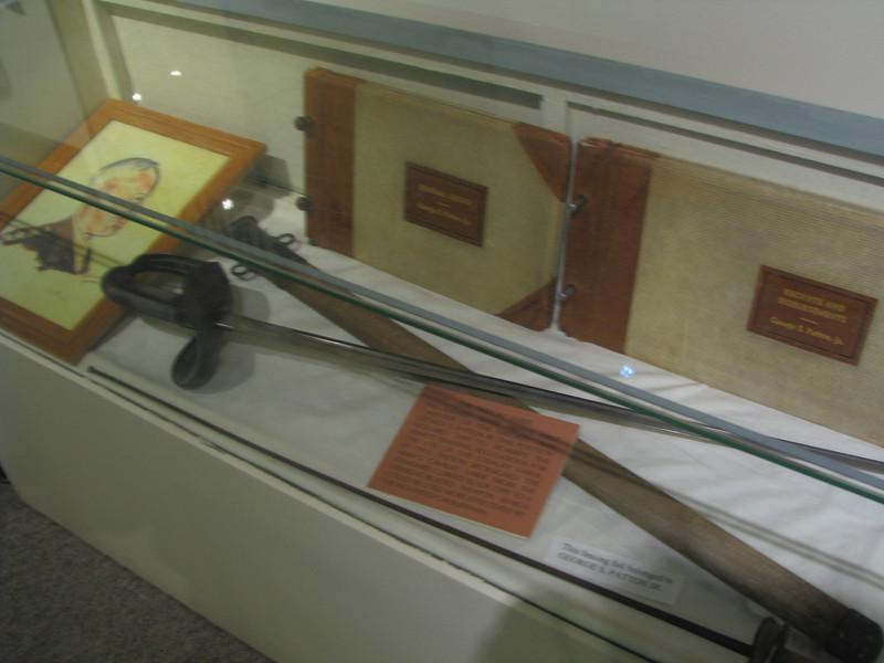 Patton's sword