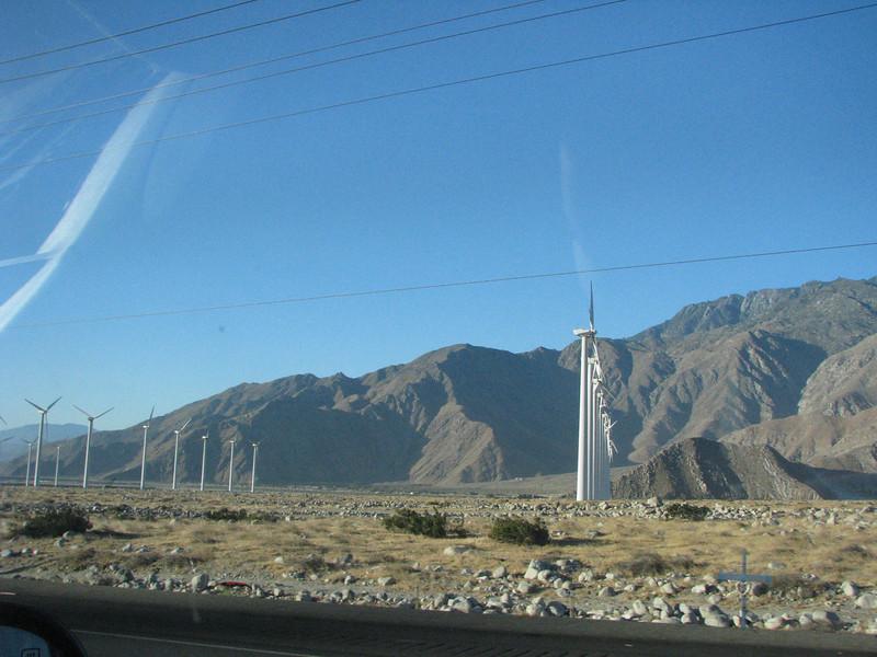 More wind generators.