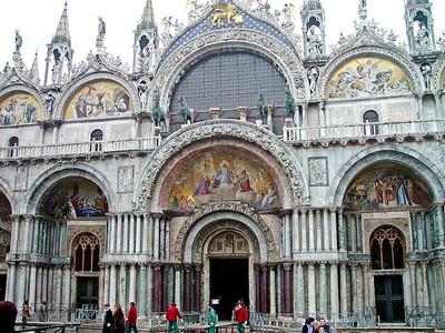 Saint Marks Cathedral, Venice, Italy.