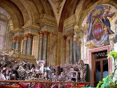 Nativity scene, Sorrento, Italy.