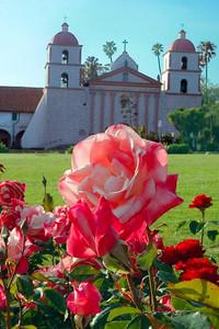 Santa Barbara Mission, Santa Barbara, CA.