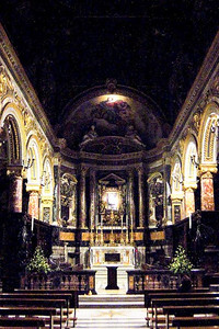 Church, Sorrento, Italy.
