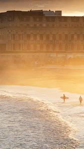 En attendant la vague - Biarritz