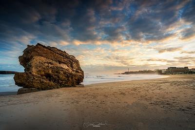 Le rocher et le phare - Biarritz