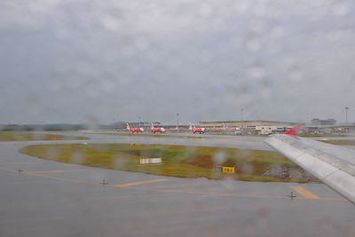 Was raining in Kuala Lumpur, Malaysia when we left for our trip to Bali (which was blue and clear skies). KL, Malaysia