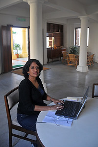 Anu booked through Hostelworld.com a nice place called Hutton Lodge in Penang Malaysia. http://www.huttonlodge.com/ The free WiFi access was certainly very helpful to both Anu and me (Suchit) as we could catch up on our mails and a bit of work as well.