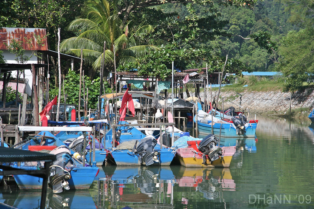 Penang Fishing village
