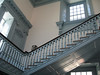 Stairs inside Independence Hall, as seen in National Treasure