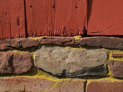 Repainted side of covered bridge, Perkasie, PA