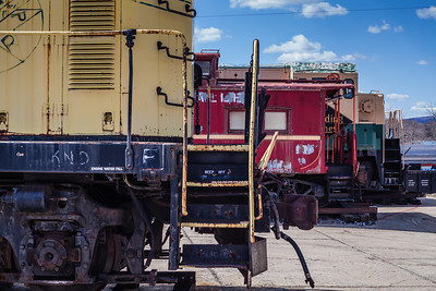 Train Yard Tour, Reading Railroad Heritage Museum, Hamburg, PA