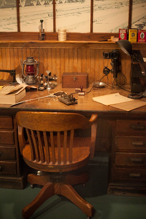 Desk, Reading Railroad Heritage Museum, Hamburg, PA