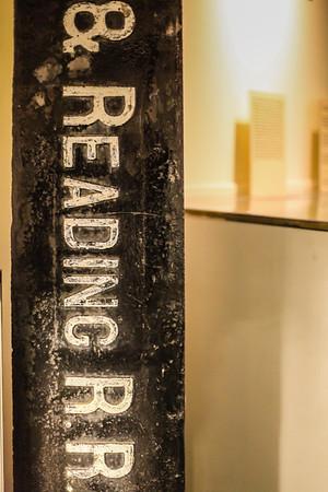 Signage, Reading Railroad Heritage Museum, Hamburg, PA