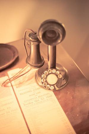 Vintage Telephone, Reading Railroad Heritage Museum, Hamburg, PA , Reading Railroad Heritage Museum, Hamburg, PA