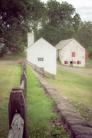 Hopewell Furnace National Historic site in Elverson, Berks Co, PA is an American 19th Century living history museum.  This ground of this former iron plantation are as beautiful as they are historic.