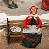 Handmade Carolers from Byers Choice in Chalfont, Pennsylvania. A great little tourist stop.