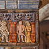 Moravian Tile Works in Doylestown, PA is a low castle like structure that house the tilework business of Henry C. Mercer.  You can tour the tile works at your own pace and watch a tile maker at work as they still make tiles in the same process today.