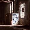 Window Abandoned Warehouse