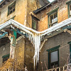 Icicles at the Abandoned Farmhouse