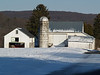 Farm on Snowy Day, Slifer Valley Road - Springfield Township, PA