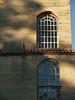 Window detail of FontHill Castle in September, Doylestown PA