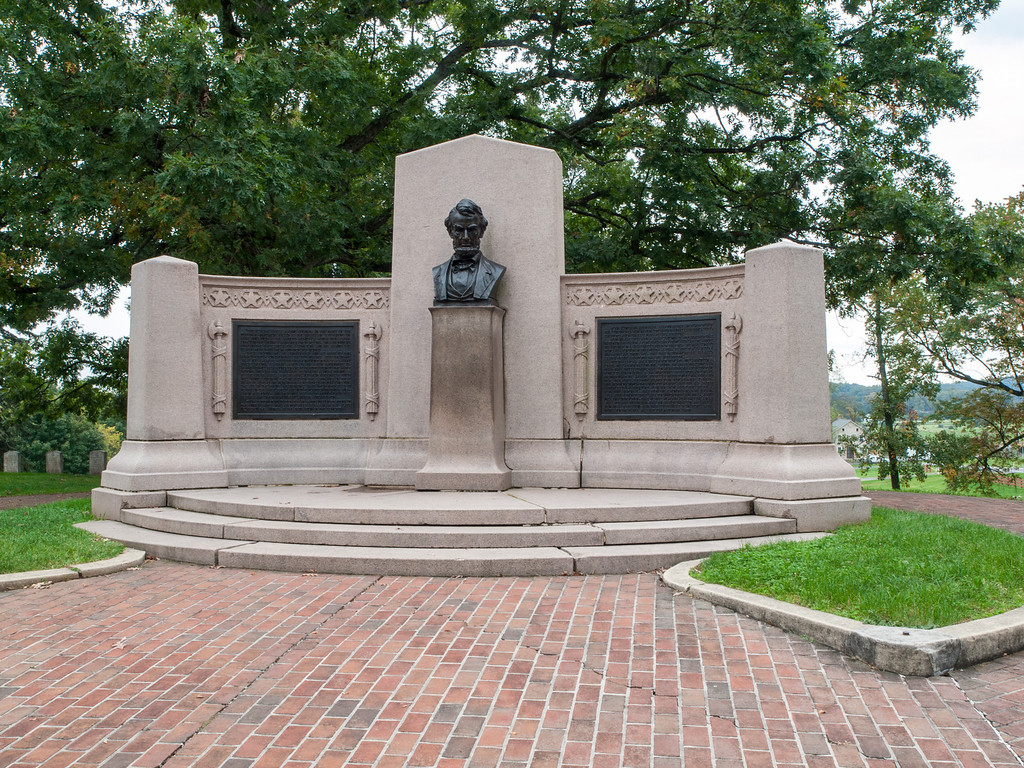 Gettysburg Lincoln Address Monument
