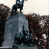 Virginia Memorial with General Lee - Gettysburg National Military Park, PA - 10/22/85