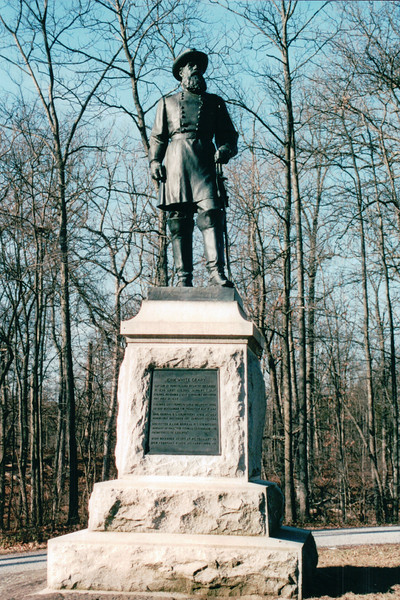 John White Geary Monument - Gettysburg National Military Park, PA  1-1-04