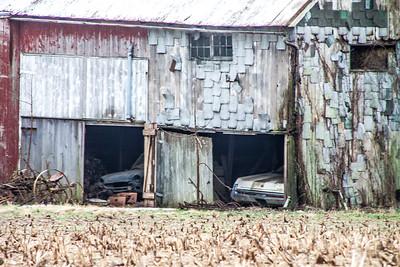 Car in the Barn